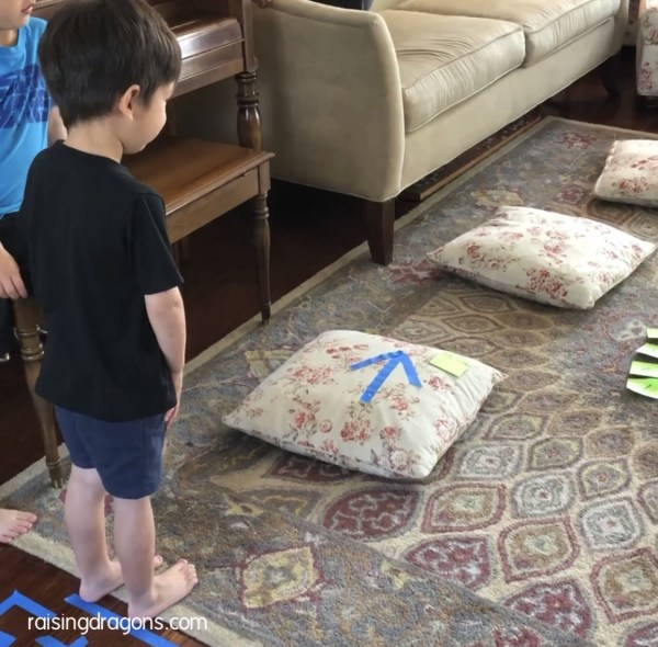 Indoor Obstacle Course for Kids ⋆ Raising Dragons