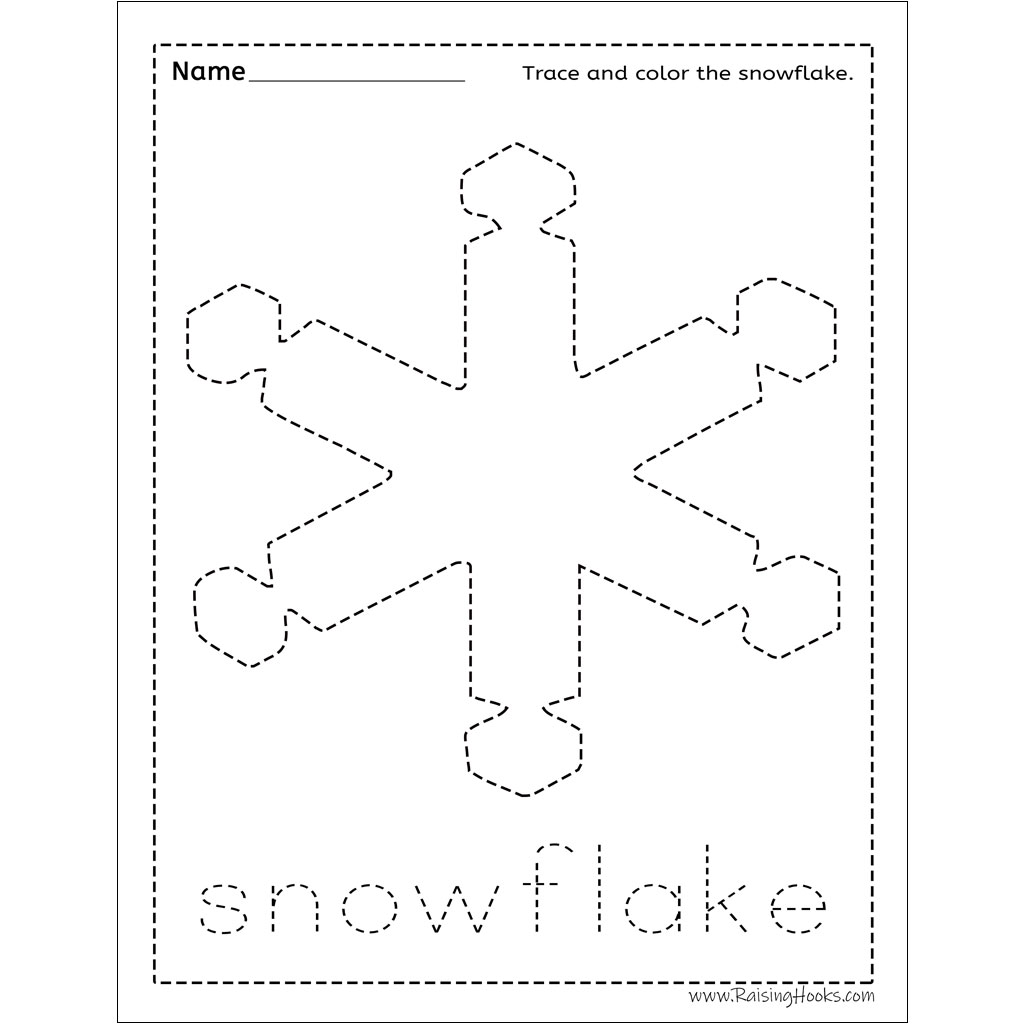 Christmas Tracing Worksheets