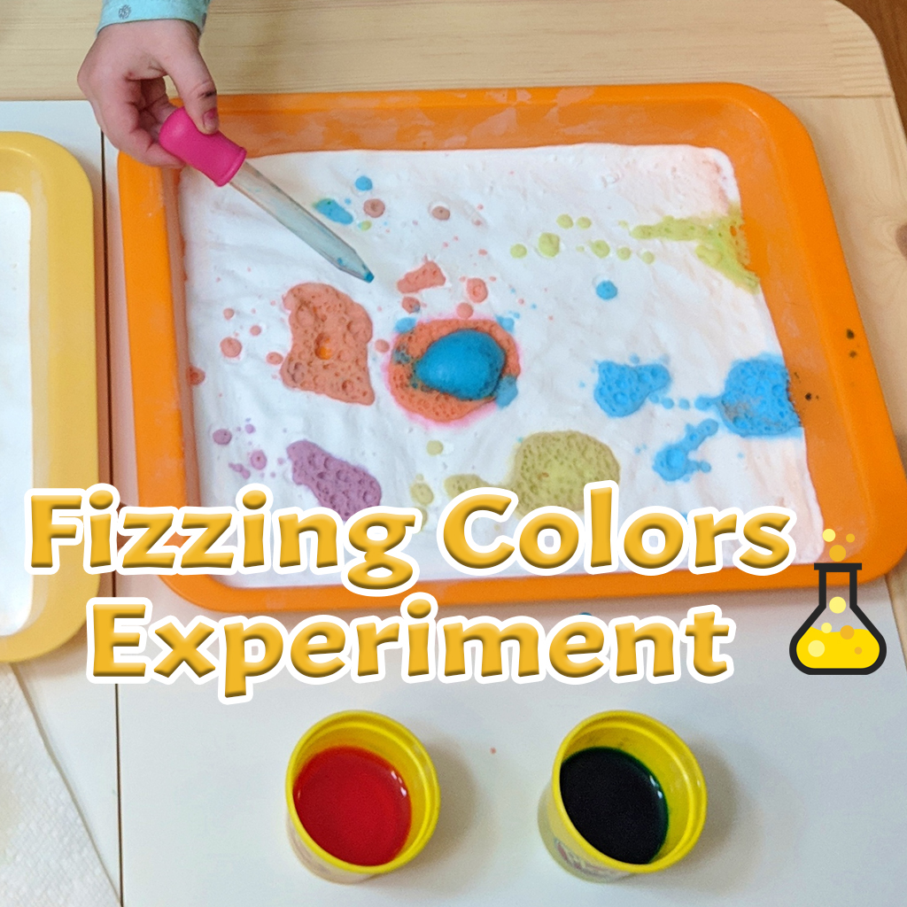 Fizzing Colors Experiment