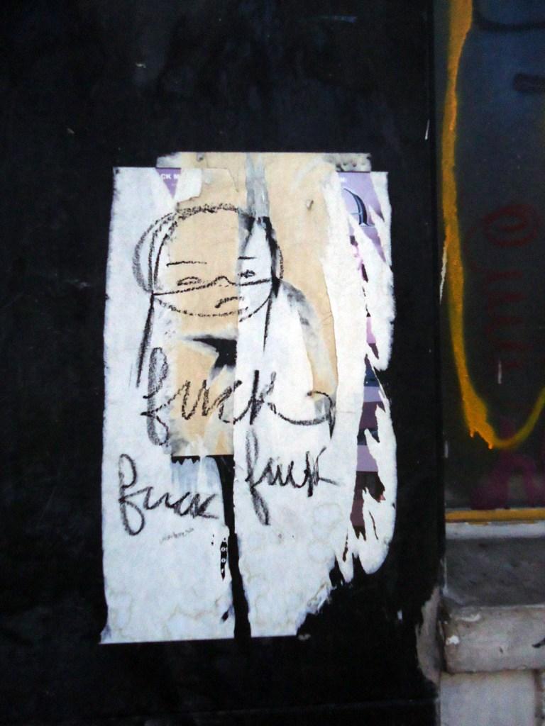Street art, gallery quality