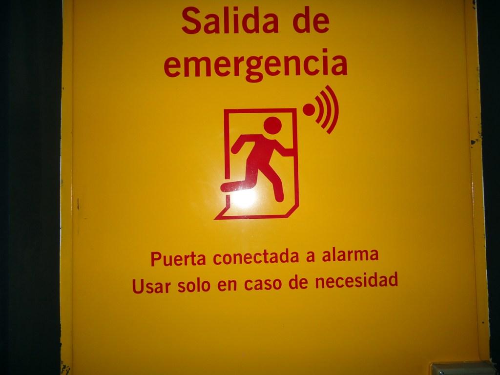 emergencia!