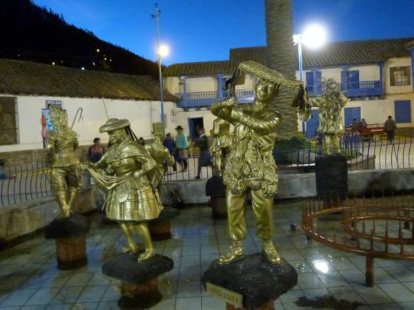 the Plaza at Paucartambo