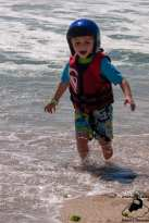 Playing in the Surf