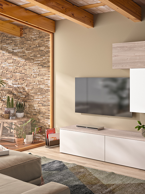 salon sur mesure meubles tv