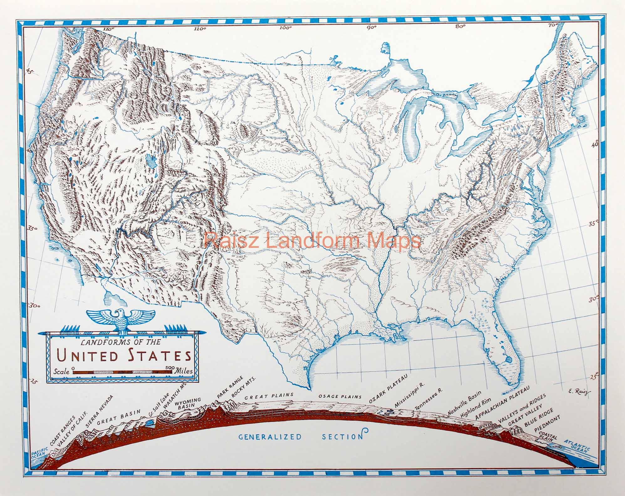 28 United States Map Landforms