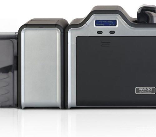 Fargo HDP5000 Dual-Side + Magnetic Stripe Encoder