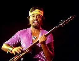Rajini On Guitar