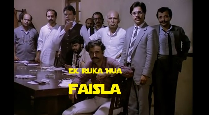 Image result for Ek Ruka Hua Faisla (1986)