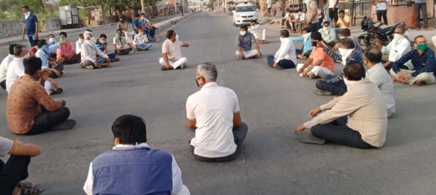 This MLA from Jalore sat on a dharna and then it happened