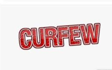 Curfew started here in Jalore city
