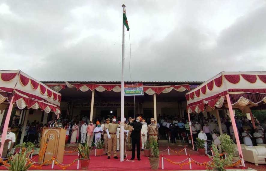 Independence day celebrated with great pomp