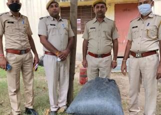 30 kg illegal doda poppy recovered from here in Sayla