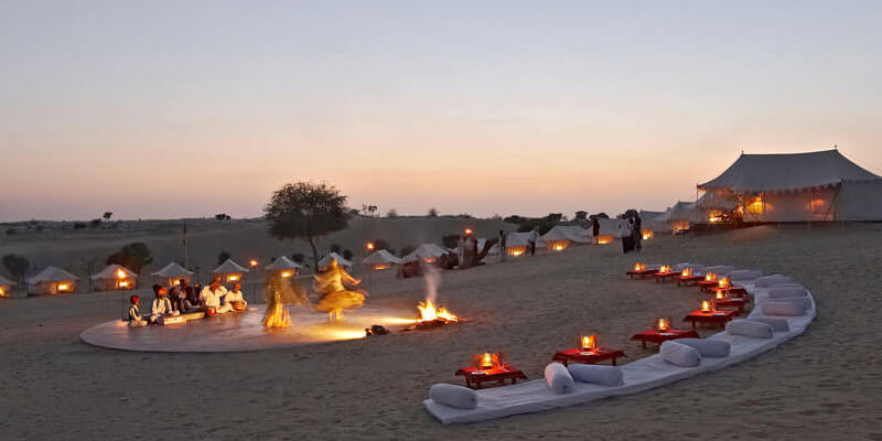 Camping in Rajasthan