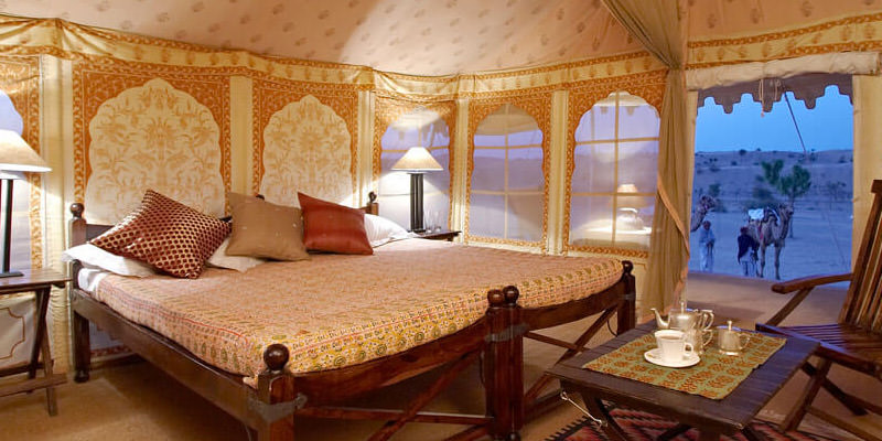 Accommodation in Camps in Rajasthan
