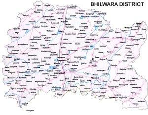 Bhilwara District Road Map