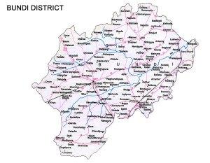 Bundi District Road Map