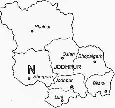 Jodhpur District Map