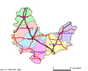 Sikar District Map