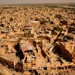 Aerial View of jaisalmer
