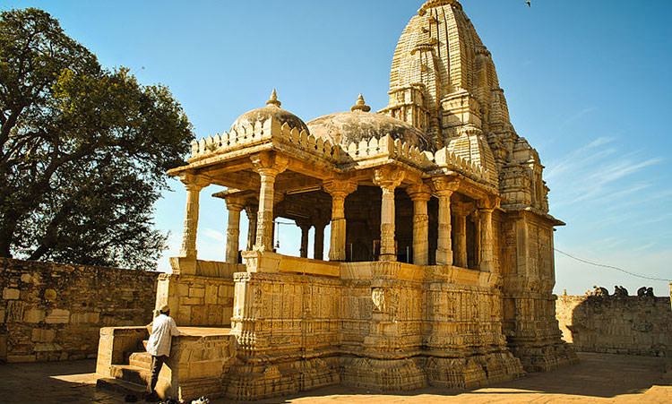 Meera Temple in Chittorgarh Fort