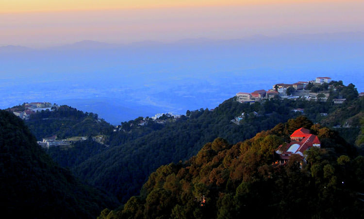 Mussoorie hill station in Uttarakhand