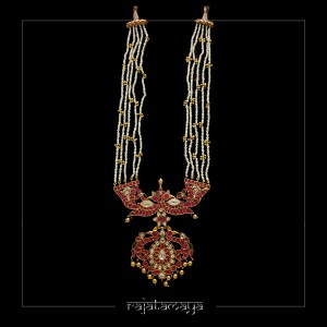 Kundan Gold Plated Pearls Necklace