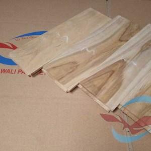 harga lantai kayu Parquet Jati Grade C