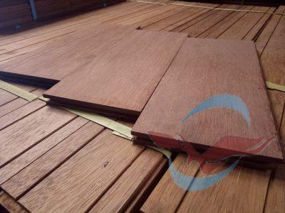 Flooring kayu Merbau Jumbo 1