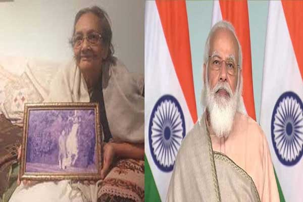 Netaji Subhash Chandra Bose's niece Chitra Bose dies, PM Modi expresses grief » NEWS READERS