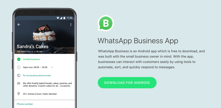 Whatsapp Launches Android apps for Businesses