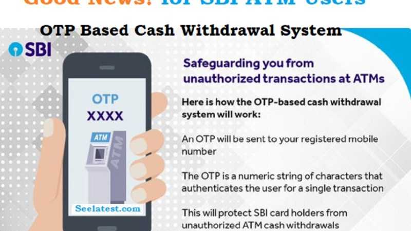 How To Use SBI OTP Based ATM Cash Withdrawal ?
