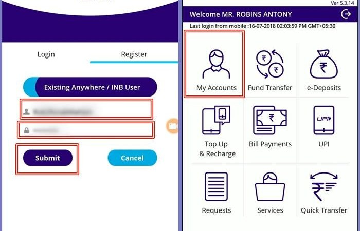 How to Register SBI Anywhere Mobile Banking Application ?