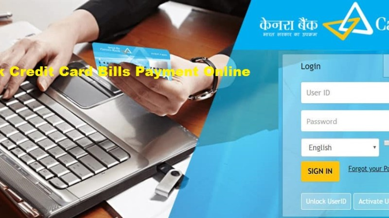How To Pay Canara Bank Credit Card Bills Online ?