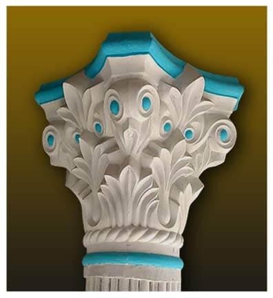 pillar head