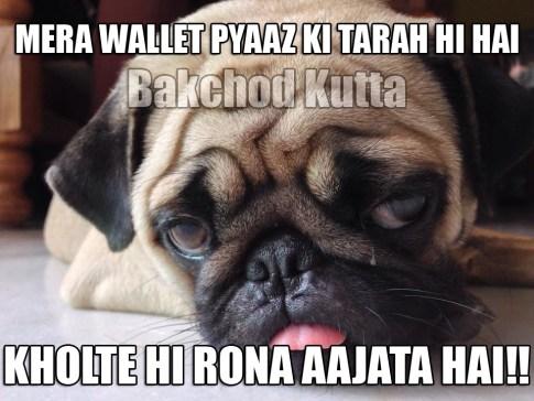 Wallet V/S Pyaaz
