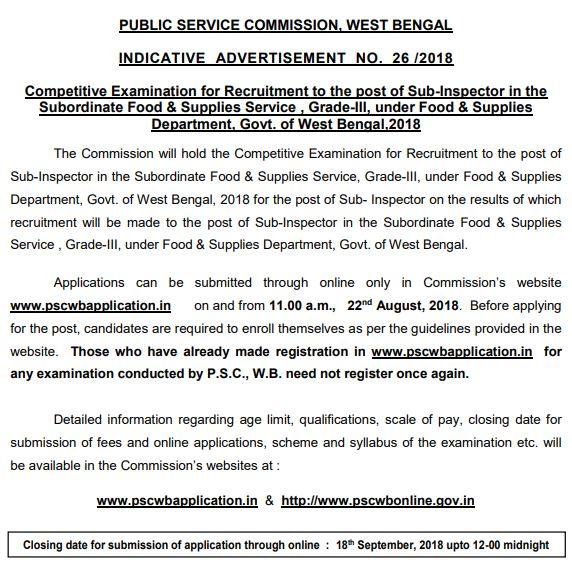 WP Police Recruitment