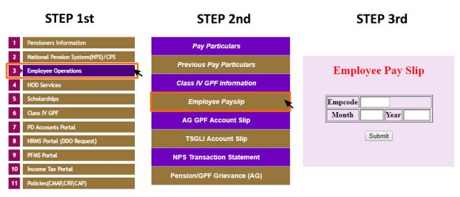 TS Pay Slip
