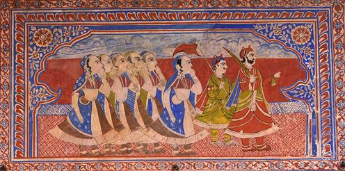 Shekhawati Fresco Painting