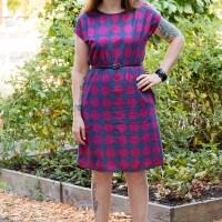 Geometric Print Staple Dress
