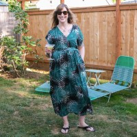 Caftans and Cocktails: A Palm Print Charlie Caftan