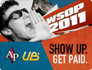 UB WSOP Get Paid Promo