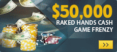 Betfair 50K Raked Hands Frenzy
