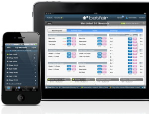 Betfair iPhone and iPad