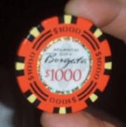 Borgata poker chip