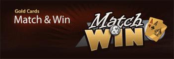 Cake Poker Gold Cards Match & Win