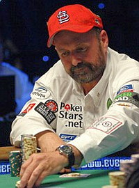 Team PokerStars professional poker player Dennis Phillips.