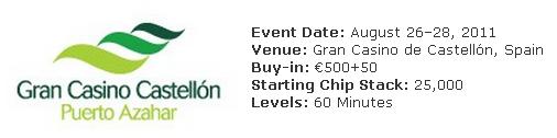 Everest Poker Castellon Event Details