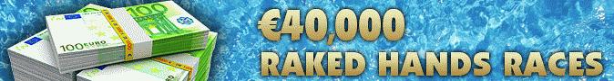 NoiQ Poker 40K Raked Hands Races