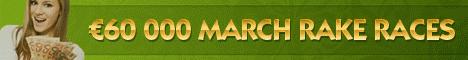 NoiQ Poker March $60K Rake Races