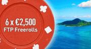 Paradise Poker 15K July Freerolls